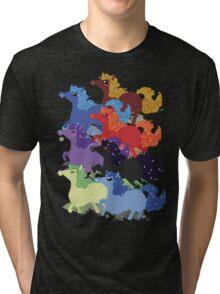 My Little Primal Ponies Tri-blend T-Shirt