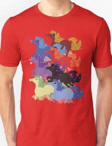 My Little Primal Ponies Unisex T-Shirt