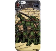 Ninja Turtles Classic Defence Stand iPhone Case/Skin
