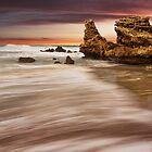 """""""Sunset Point"""",Point Roadknight,Anglesea,Australia. by Darryl Fowler"""
