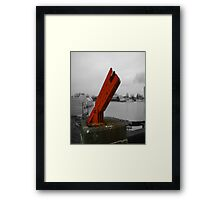 Industrial Sculpture No. 1 Framed Print