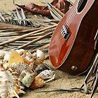 Uke at the Beach by Caroline Angell