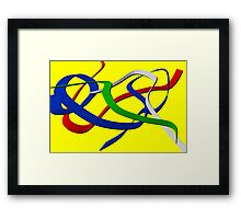 Streamers Framed Print