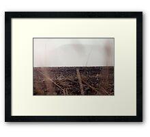 Hiding Ground Framed Print