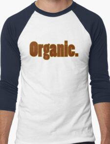 Organic Men's Baseball ¾ T-Shirt