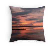 Sunset on Galway Bay Throw Pillow