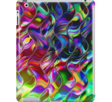 Psychedelic Mirror Waves iPad Case/Skin