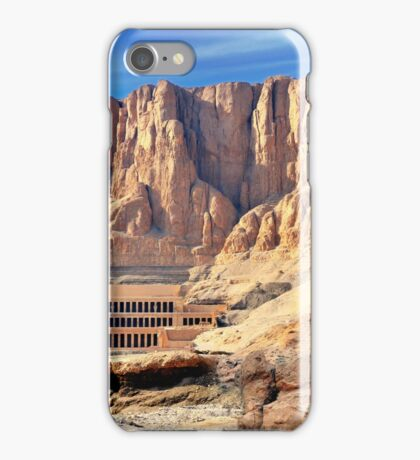 Hatshepsut Temple in the Valley of the Kings iPhone Case/Skin