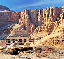 Hatshepsut Temple in the Valley of the Kings by MaxalTamor