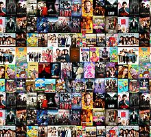 TV SHOWS COLLAGE by thatthespian