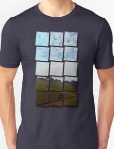 Scenery with clouds, a hill and nothing particular | landscape photography Unisex T-Shirt