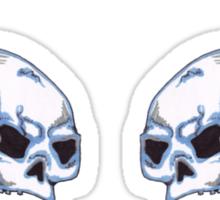 skull wings  Sticker