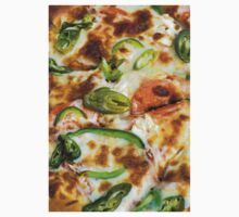 Pizza Topping Close Up Kids Clothes