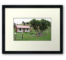 Whakataki Cottage  Framed Print