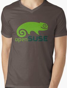 openSUSE Mens V-Neck T-Shirt