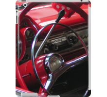 Symphony in Red vintage car iPad Case/Skin