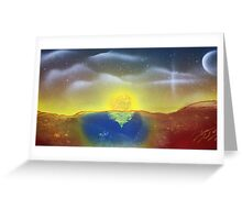 Easter20 Sunset Greeting Card