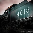 Engine Number 4018 by Phillip M. Burrow