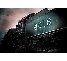 Engine Number 4018 Photographic Print