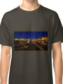 Bristol docks by night  Classic T-Shirt