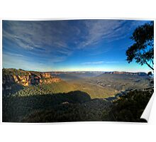 Jamison Valley The Blue Mountains Poster