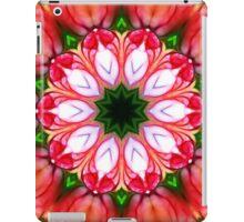 Peach Floral Kaleidoscope 34 iPad Case/Skin