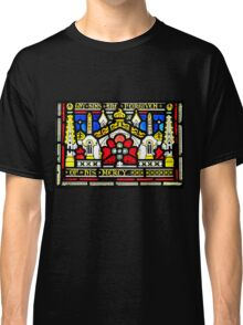 Stained glass - buildings Classic T-Shirt