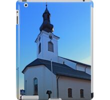 The village church of Lembach / Mkr I | architectural photography iPad Case/Skin