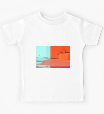 Paint and water reflection  Kids Tee