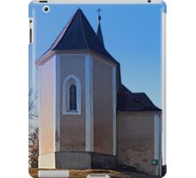 The village church of Hollerberg IV | architectural photography iPad Case/Skin