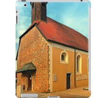 The cemetary church of Aschach an der Donau | architectural photography iPad Case/Skin