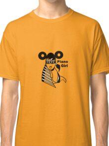 Piano girl Classic T-Shirt