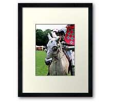 A horse, a horse, my kingdom for a horse Framed Print
