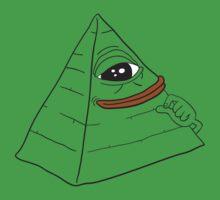 Pepe the smug frog - Pyramid edition by kebuenowilly