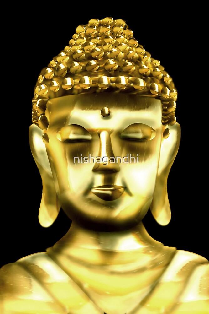 Lord Buddha by nishagandhi