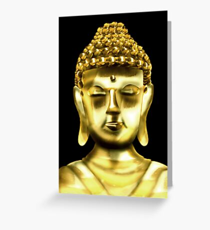 Lord Buddha Greeting Card