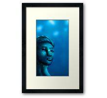 Gumball lady Framed Print