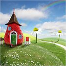 Fairy-cottage by Oxana Zuboff