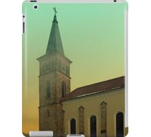 The village church of Julbach I | architectural photography iPad Case/Skin
