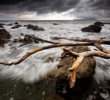 Beached Beach by Ken Wright