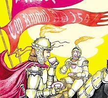 Knights' Tea by robertemerald