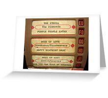 BeBop-a-Loola Greeting Card