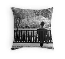 Au Jardin des Plantes Throw Pillow