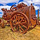 Rusty Steam by Ian Fraser