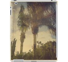 Palm Trees in the Wind iPad Case/Skin