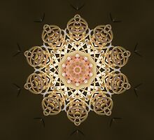 Grevellia mandala star. by Marilyn Baldey
