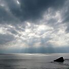 Sunrays through the clouds by viaterra-photos