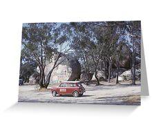 Hills TV Service Mini ~1965 Greeting Card