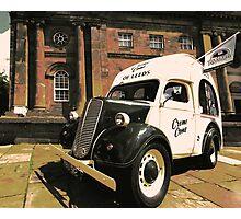 ice cream van Photographic Print