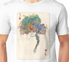 3 of Diamonds Unisex T-Shirt